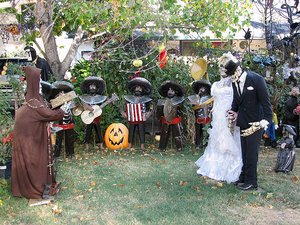 outdoor halloween decorations outoor halloween decor picture