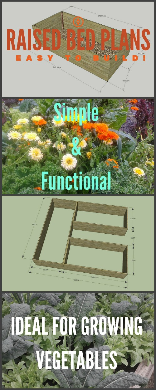 how to build a raised bed vegetable garden plans