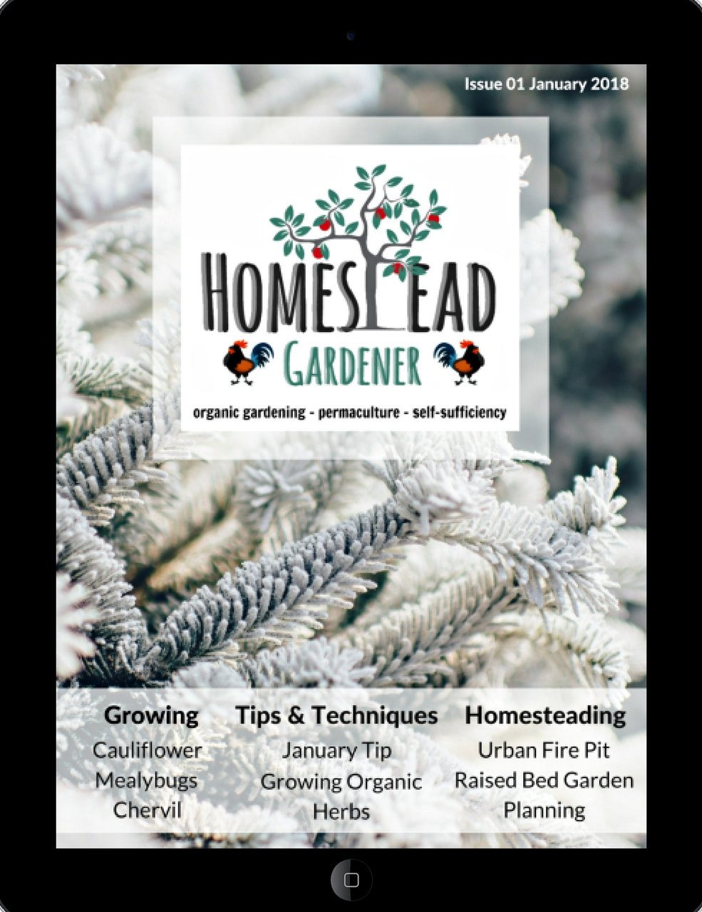 The Homestead Gardener Magazine January 2018