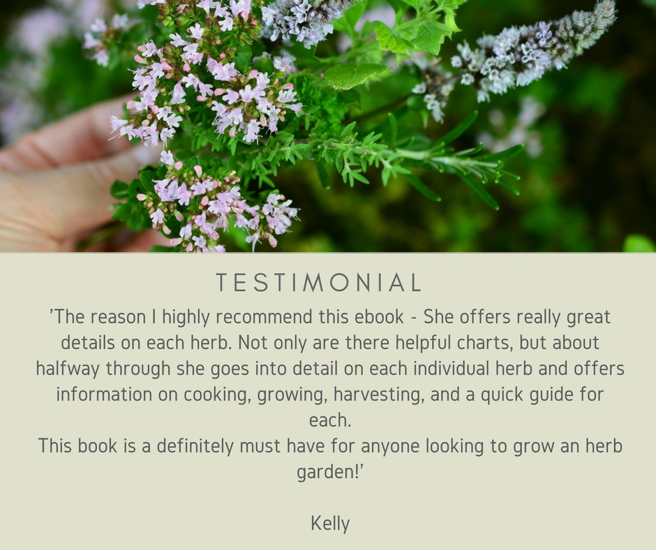 testimonial herb ebook