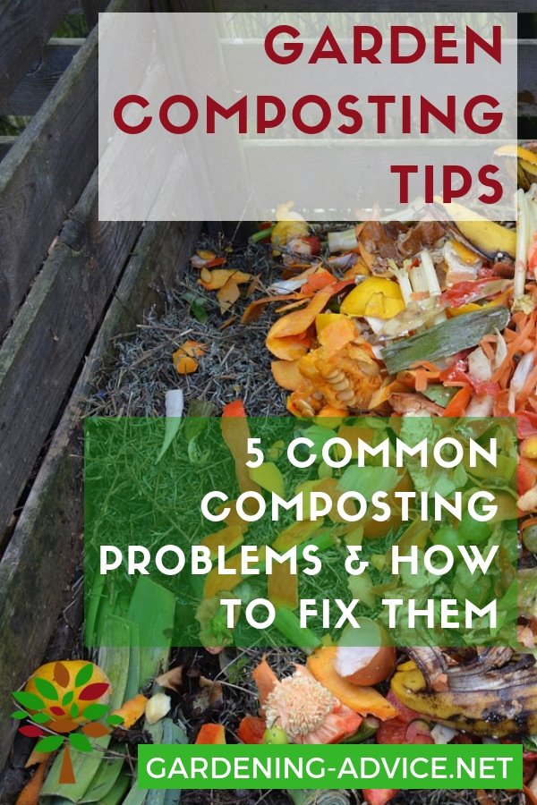 5 Common Garden Composting Problems And How To Fix Them