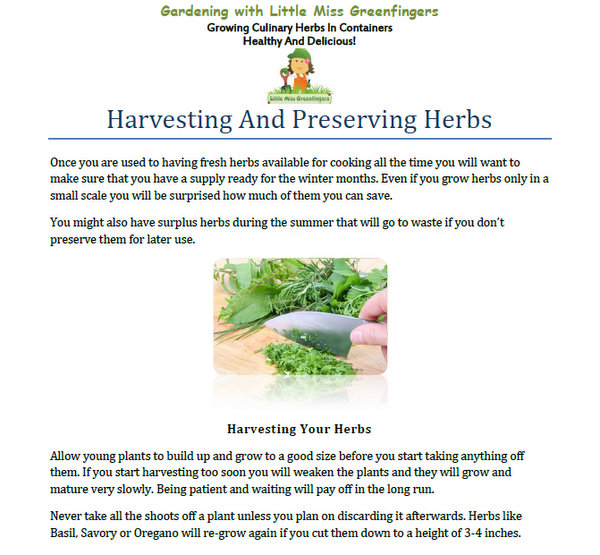 preserving herbs sample
