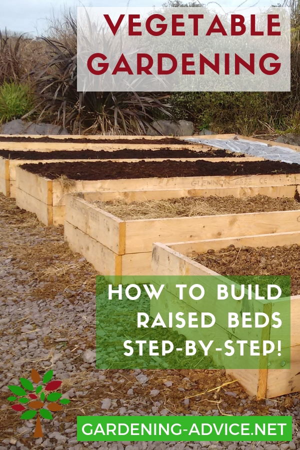 Easy Raised Bed Garden Plans For Growing Vegetables Learn How To Build Bedds Here Gardening Gardeningtips Permaculture Homesteadgarden