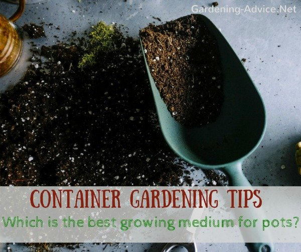 Which is the best growing medium for garden pots?